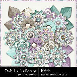 Faith flowers medium