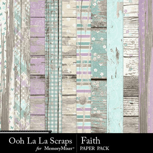 Faith wood papers medium