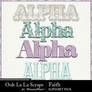 Faith alphabets medium