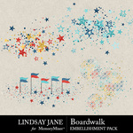 Boardwalk Scatterz Pack-$2.49 (Lindsay Jane)
