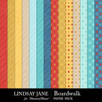 Boardwalk Glitter Paper Pack-$2.49 (Lindsay Jane)