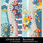 Boardwalk Borders Pack-$2.49 (Lindsay Jane)