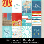 Boardwalk Journal Cards Pack-$2.49 (Lindsay Jane)