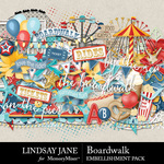 Boardwalk Embellishment Pack-$3.49 (Lindsay Jane)