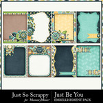 Just be you journal cards small