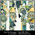 Just Be You Page Border Pack-$2.49 (Just So Scrappy)