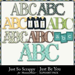 Just be you alphabets medium