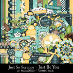 Just Be You Combo Pack-$4.99 (Just So Scrappy)