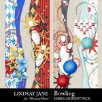 Bowling Border Pack-$2.49 (Lindsay Jane)