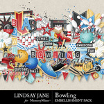 Bowling Embellishment Pack-$3.49 (Lindsay Jane)