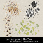The Zoo LJ Scatterz Pack-$2.49 (Lindsay Jane)