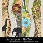 The Zoo LJ Border Pack-$2.49 (Lindsay Jane)