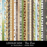The Zoo LJ Paper Pack-$2.99 (Lindsay Jane)