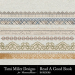 Read a Good Book Border Pack-$2.99 (Tami Miller)