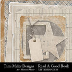 Read a Good Book Tattered Pieces-$2.99 (Tami Miller)