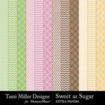 Sweet As Sugar Extra Paper Pack-$2.99 (Tami Miller)