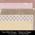 Sweet As Sugar Tattered Paper Pack-$2.99 (Tami Miller)
