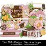 Sweet As Sugar Embellishment Pack-$4.99 (Tami Miller)