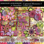 Captured Moments 5 Combo Pack-$8.99 (Laura Burger)