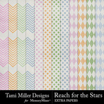 Reach for the Stars Extra Papers Pack-$2.99 (Tami Miller)