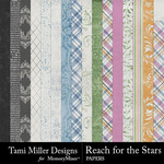 Reach for the Stars Paper Pack-$4.99 (Tami Miller)