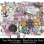 Reach for the Stars Embellishment Pack-$4.99 (Tami Miller)