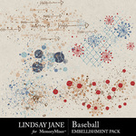 Baseball LJ Scatterz Pack-$2.49 (Lindsay Jane)