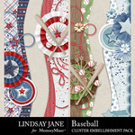 Baseball LJ Border Pack-$2.49 (Lindsay Jane)