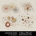 A Boys World Scatterz Pack-$2.49 (Lindsay Jane)