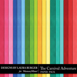 The Carnival Adventure Solid Paper Pack-$3.99 (Laura Burger)