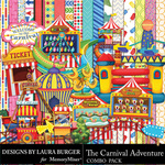 The Carnival Adventure Combo Pack-$9.99 (Laura Burger)