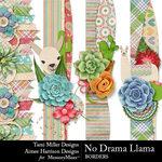 No Drama Llama Border Pack-$2.99 (Tami Miller)