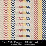 All Stitched Up Extra Paper Pack-$2.99 (Tami Miller)
