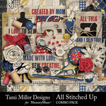 All Stitched Up Combo Pack-$8.99 (Tami Miller)