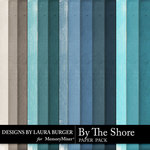 By The Shore Solid Paper Pack-$2.99 (Laura Burger)