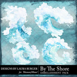 By The Shore Waves Pack-$4.99 (Laura Burger)