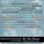 By The Shore Label Pack-$3.50 (Laura Burger)