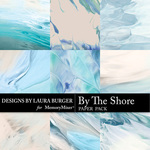 By The Shore Artsy Paper Pack-$4.99 (Laura Burger)