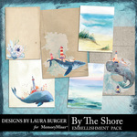 By The Shore Journal Card Pack-$4.99 (Laura Burger)