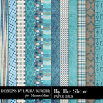 By The Shore Pattern Paper Pack-$4.99 (Laura Burger)