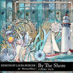 By The Shore Combo Pack-$9.49 (Laura Burger)