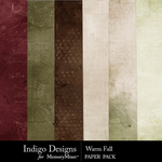 Warm Fall Paper Pack-$3.49 (Indigo Designs)
