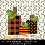 Giving Thanks LI QuickMix-$2.80 (Lasting Impressions)