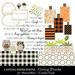 Giving Thanks LI Combo Pack-$2.10 (Lasting Impressions)
