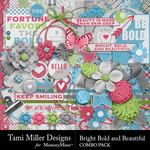 Bright Bold and Beautiful Combo Pack-$8.99 (Tami Miller)