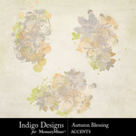 Autumn Blessing Accent Pack-$2.99 (Indigo Designs)