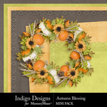 Autumn Blessing Mini Pack-$3.99 (Indigo Designs)
