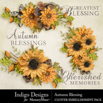 Autumn Blessing Cluster Pack-$2.99 (Indigo Designs)