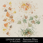Autumn Hues Scatterz Pack-$2.49 (Lindsay Jane)