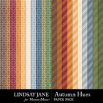 Autumn Hues Pattern Paper Pack-$2.49 (Lindsay Jane)